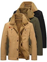 cheap -winter bomber jacket men air pilot winter jacket cotton thick collar warm military tactical fleece coat khaki xxxl