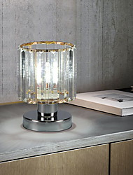 cheap -Crystal Table Lamp Ambient Lamps Modern Contemporary For Bedroom Study Room Office Metal 110-120V 220-240V