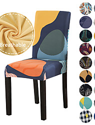 cheap -Chair Cover Multi Color / Geometric / Floral Printed Polyester Slipcovers