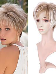 cheap -Curly Short Gradient Color Wig Natural Chemical Fiber Mechanism Gradient Color Hair Set Wig Female Short Hair