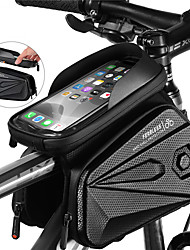 cheap -1.2 L Bike Frame Bag Top Tube Waterproof Portable Quick Dry Bike Bag EVA Bicycle Bag Cycle Bag Cycling Outdoor Exercise