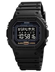 cheap -1743 Unisex Smartwatch Bluetooth Sports Calories Burned Long Standby Information Message Control Stopwatch Pedometer Alarm Clock Chronograph Calendar