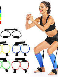 cheap -Bounce Trainer Training Device Booty Resistance Belt Bands Jump Trainer Leg Strength and Agility Training Strap Adjustable Waist Belt Sports Resistance Training Home Workout Muscle Building Fat