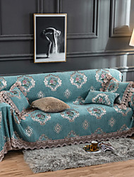 cheap -Sofa Cover Floral Printed Polyester / Cotton Slipcovers