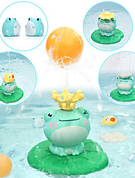 cheap -Spray Water Squirt Toy Bath Toy Bathtub Pool Toys Water Pool Bathtub Toy Frog Plastic Bathtime Bathroom 2 pcs for Toddlers, Bathtime Gift for Kids & Infants / Kid's