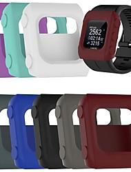 cheap -Cases For Polar POLAR V800 Silicone Screen Protector Smart Watch Case Compatibility