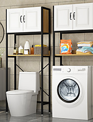 cheap -Multifunctional Toilet Floor Rack Storage Cabinet Household Free-punched