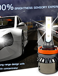cheap -2pcs Car LED Headlamps Car Canbus Light H7 H4 H3 Light Bulbs 5000 lm High Performance LED 55 W 3000-6000 k 2 For Volvo Volkswagen Toyota M3 Golf RAV4 2018 2008 2009