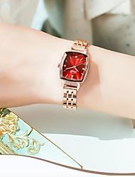 cheap -Women's Steel Band Watches Analog Quartz Stylish Luxury Water Resistant / Waterproof Diamond