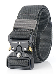 cheap -Men's Military Tactical Belt Breathable Wearable Quick Release for Solid Colored Nylon Fall Spring Summer