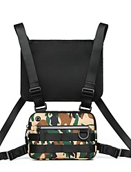 cheap -Unisex Bags Polyester Sling Shoulder Bag Chain Daily Outdoor 2021 Chain Bag White Black Camouflage
