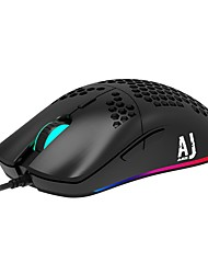 cheap -AJAZZ AJ390R Wired USB Gaming Mouse 16000 dpi 5 Adjustable DPI Levels 6 pcs Keys