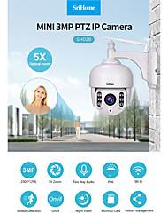 cheap -Sricam SH028 3.0MP Outdoor IP Camera Waterproof 5X Optical Zoom Wifi Camera 360 P2P 2-Way Audio Wireless Surveillance CCTV PTZ