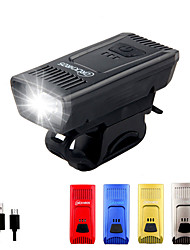 cheap -LED Bike Light LED Light Bulbs Front Bike Light Safety Light LED Bicycle Cycling Waterproof Wearproof Durable 14500 1200 lm Built-in Li-Battery Powered Natural White Everyday Use Cycling / Bike