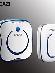 cheap -KONLEN 9809 Wireless One doorbell Music Non-visual doorbell / Waterproof / Sound adjustable Free Standing Doorbell