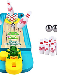 cheap -Mini Bowling Game Set Indoor Bowling Toy Classic Desk Ball Board Toy Desktop Bowling Game for Kids & Adults