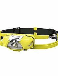 cheap -led headlamp coolpal headlamp, 150 lumen sweatband waterproof lightweight mini headlamps perfect for running, jogging and more, yellow 10055