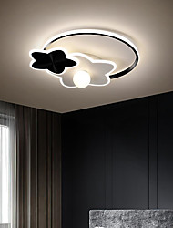 cheap -44/55 cm LED Ceiling Light Dimmable Light Round Design Simple Modern Star Lamp Bedroom Children's Room Ownerless Acrylic Popular Home Ceiling Lamp
