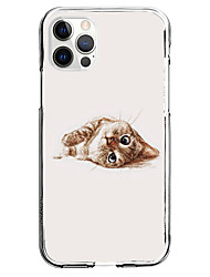 cheap -Creative Cat Case For Apple iPhone 12 iPhone 11 iPhone 12 Pro Max Unique Design Protective Case Pattern Back Cover TPU
