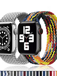 cheap -Smart Watch Band for Apple iWatch 1 pcs Printed Bracelet Nylon Replacement  Wrist Strap for Apple Watch  6 / SE / 5/4/3/2/1