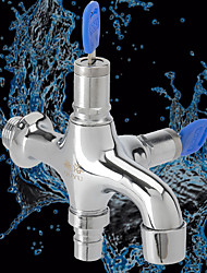cheap -Outdoor Faucet Household with Lock 4 Points Single Cold Faucet with Lock Anti-theft