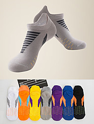 cheap -LITB Basic Men's Quick-drying Sports Socks Breathable Chinlon Footsocks Towel Bottom Neon sox One-Size EU 39-44 For Male