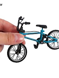 cheap -ocday fingerboard bike with brake rope blue simulation alloy finger bmx bike