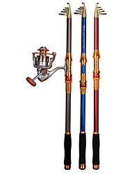 cheap -Fishing Rod Telescopic Rod 100/120/150/170/190/210/230 cm Portable Lightweight Sea Fishing