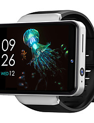 cheap -TICWRIS MAX S 4G LTE Cellular Smartwatch Phone Android 7.1 GPS Smart Watch Dual Cameras Face ID Unlock 2.4 inch Screen 3GB+32GB ECG+PPG Fitness Watch 65mm Watch Case