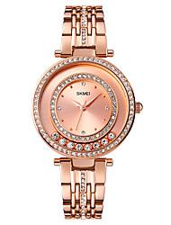 cheap -SKMEI Women's Quartz Watches Analog Quartz Stylish Luxury Water Resistant / Waterproof Creative / Stainless Steel