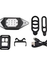 cheap -LED Bike Light Turn Signal Light Bicycle Cycling Waterproof Portable Remote Control / RC Li-ion 50 lm Yellow Cycling / Bike