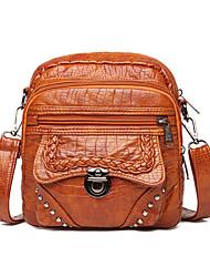 cheap -Women's Bags Crossbody Bag Daily 2021 MessengerBag Black Brown