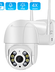 cheap -BESDER BES-A8 1080P Wifi PTZ IP  Camera Outdoor Support 5 mp / 3 mp / 2 mp /4X Digital Zoom