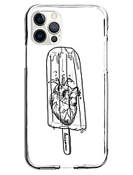 cheap -Creative Ice Cream Phone Case For Apple iPhone 13 12 Pro Max 11 X XR XS Max iphone 7/8 iphone 7Plus / 8Plus Unique Design Protective Case Pattern Back Cover TPU