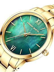cheap -HANNAH MARTIN Women's Quartz Watches Analog Quartz Stylish Elegant Marble / Japanese