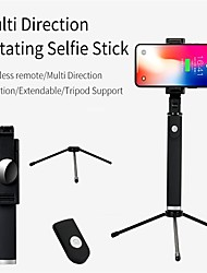 cheap -Selfie Stick Bluetooth Extendable Max Length 85 cm For Universal Android / iOS Universal