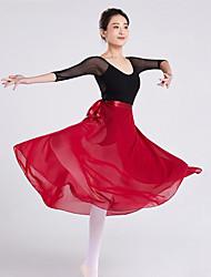 cheap -Ballet Skirts Bandage Women's Training Performance High Chiffon