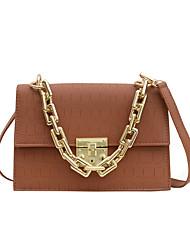 cheap -Women's Bags Crossbody Bag Daily Date Handbags MessengerBag White Black Brown