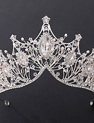 cheap -Retro Sweet Rhinestone / Alloy Tiaras / Headbands with Crystal / Rhinestone / Beading / Split Joint 1 Piece Wedding / Party / Evening Headpiece