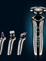 cheap -Electric Shaver Multi-function Intelligent Digital Display Beard Knife Razor Washing Beard
