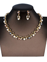 cheap -Women's Bridal Jewelry Sets Heart Fashion Earrings Jewelry 1# / 2# / 3# For Festival 1 set
