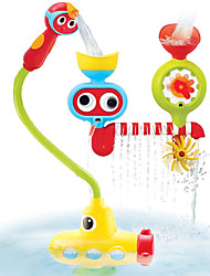 cheap -Bath Toy Bathtub Pool Toys Water Pool Bathtub Toy Submarine Plastic Sprinkler Bathtime Bathroom for Toddlers, Bathtime Gift for Kids & Infants / Kid's