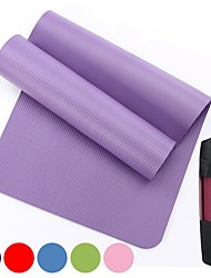 cheap -Yoga Mat With Net bag183*61*1 cm Odor Free Eco-friendly High Density Non Toxic Thick Anti Slip NBR Waterproof Physical Therapy Weight Loss Slimming Body Sculptor Calories Burned for Home Workout Yoga