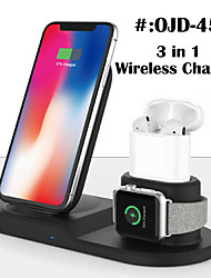cheap -Multi-function 3 in 1 Wireless Charger for Apple iPhone 12 Pro/11/XR/XS Max Wireless Charger Station for Samsung S21 Plus S20 Huawei OPPO VIVO Xiaomi Wireless Charger Stand for iWatch 6/5/4/3/Air pods