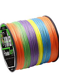 cheap -PE Braided Line / Dyneema / Superline Fishing Line 300M / 330 Yards PE 80LB 65LB 50LB
