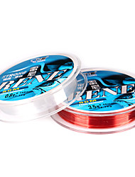 cheap -Monofilament Abrasion Resistant Fishing Line 50M / 55 Yards White, Red