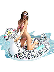 cheap -Inflatable Pool Float Lounge Raft Ride on PVC / Vinyl Leopard Water fun Party Favor Summer Beach Swimming 1 pcs Boys and Girls Kid's Adults'