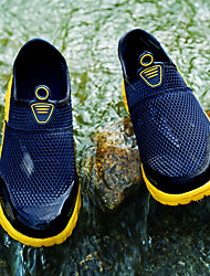 cheap -Men's Loafers & Slip-Ons Casual Outdoor Upstream Shoes Mesh Breathable Non-slipping Wear Proof Black / White Blue Gray Summer