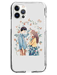 cheap -Characters Phone Case For Apple iPhone 12 iPhone 11 iPhone 12 Pro Max Unique Design Protective Case Pattern Back Cover TPU