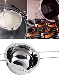 cheap -Chocolate Melting Pot and Boiling Water Pot Sets Cheese and Butter Melting Pot Kitchen Tools Accessories Stainless Steel